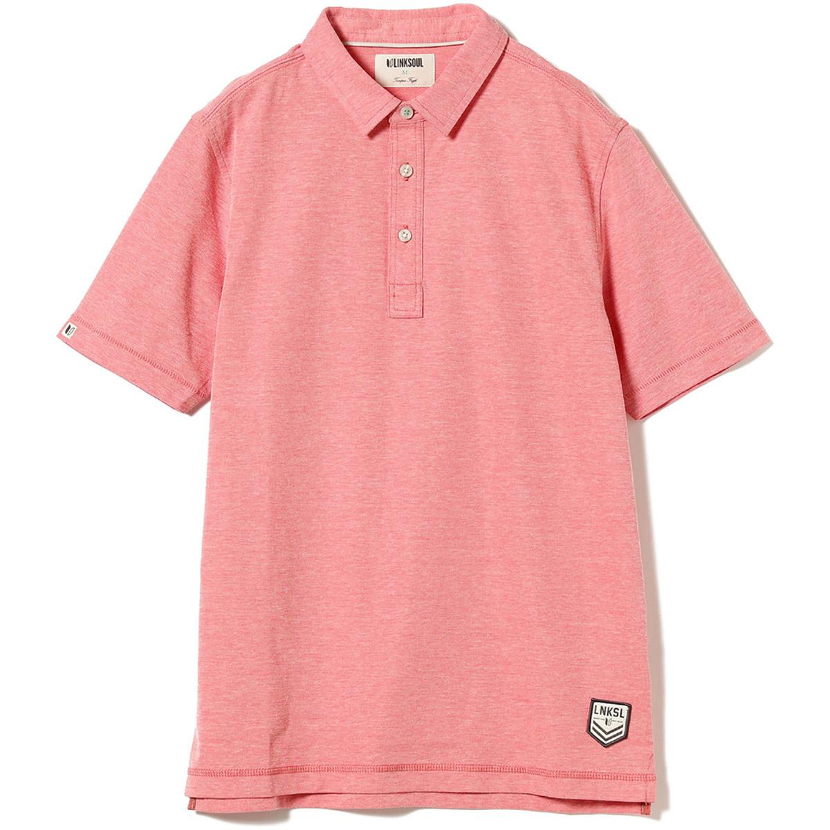 LINKSOUL×BEAMS GOLF 別注 ニット ドライテック ポロシャツ