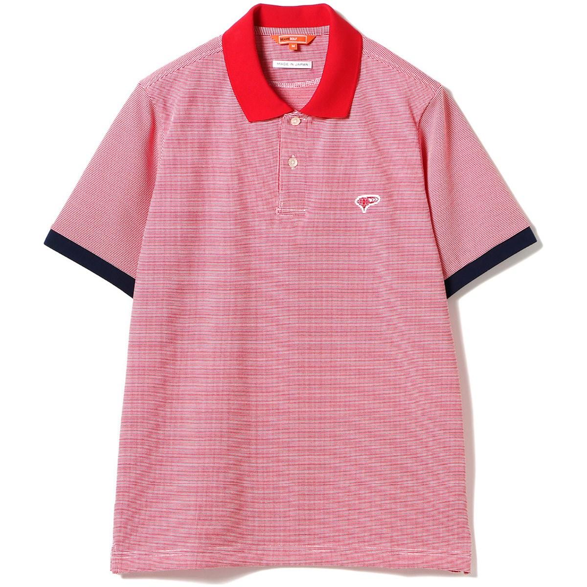 ビームスゴルフ BEAMS GOLF ORANGE LABEL ミジンボーダー ポロシャツ