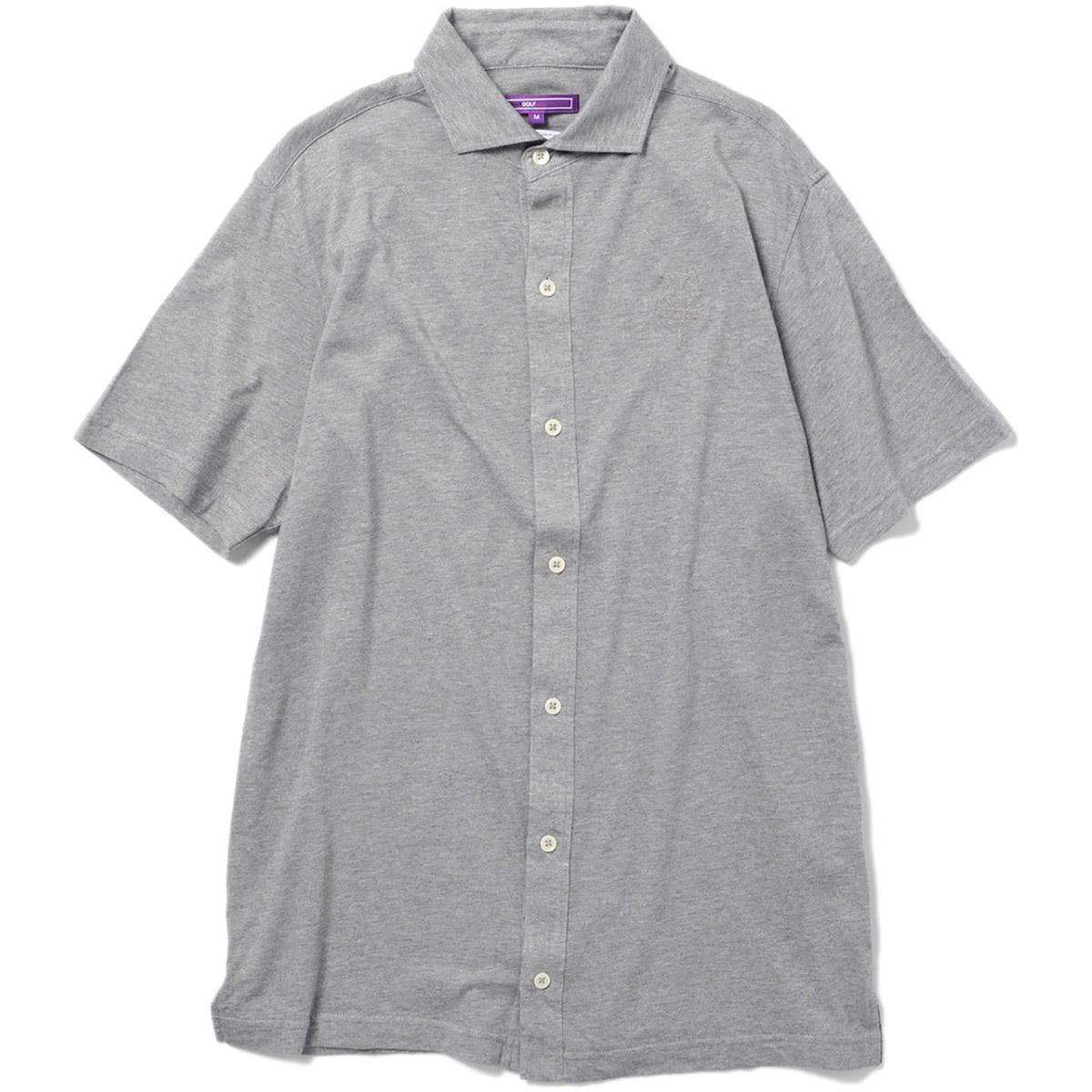 BEAMS GOLF PURPLE LABEL テンセル×コットン テンジク ポロシャツ