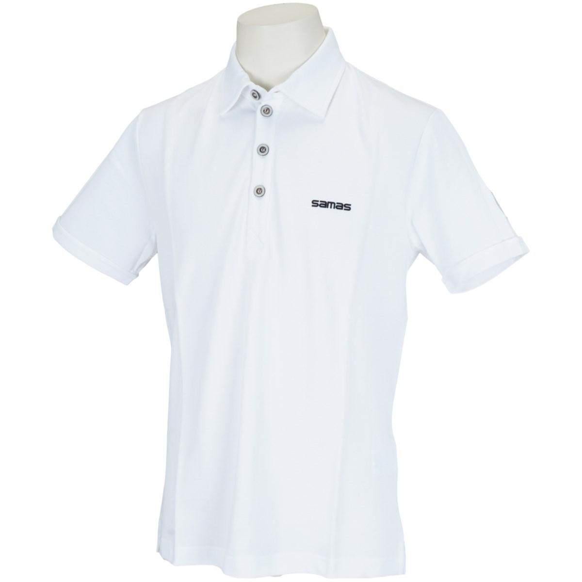 サマス セミスプレッドカラー半袖ポロシャツ