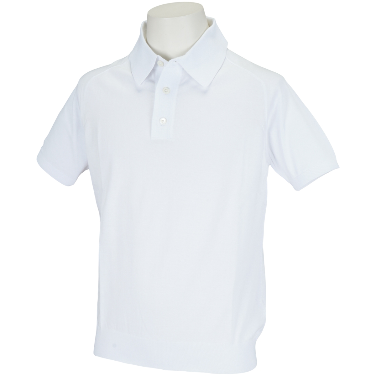 ニット半袖ポロシャツ