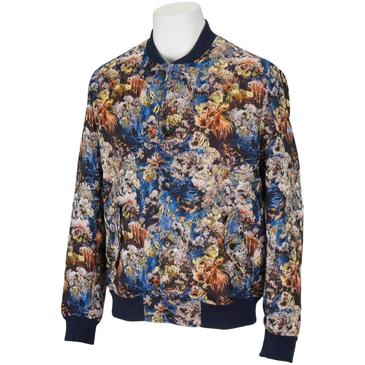 サマス ボタンアップボンバージャケット