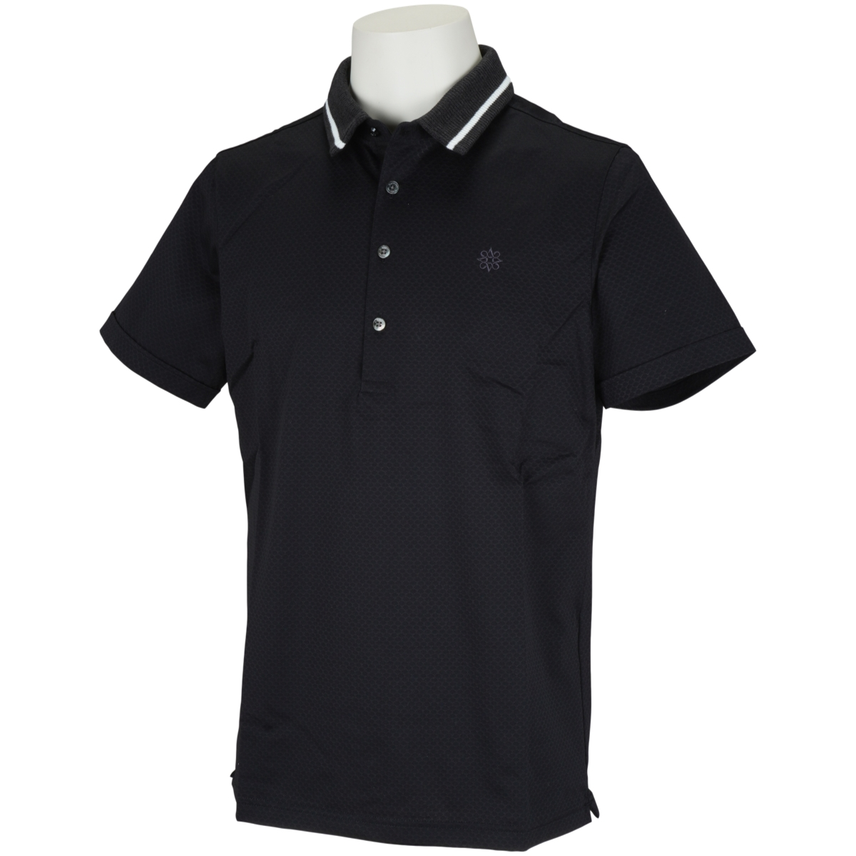 ブレーティングジャガード 半袖ポロシャツ