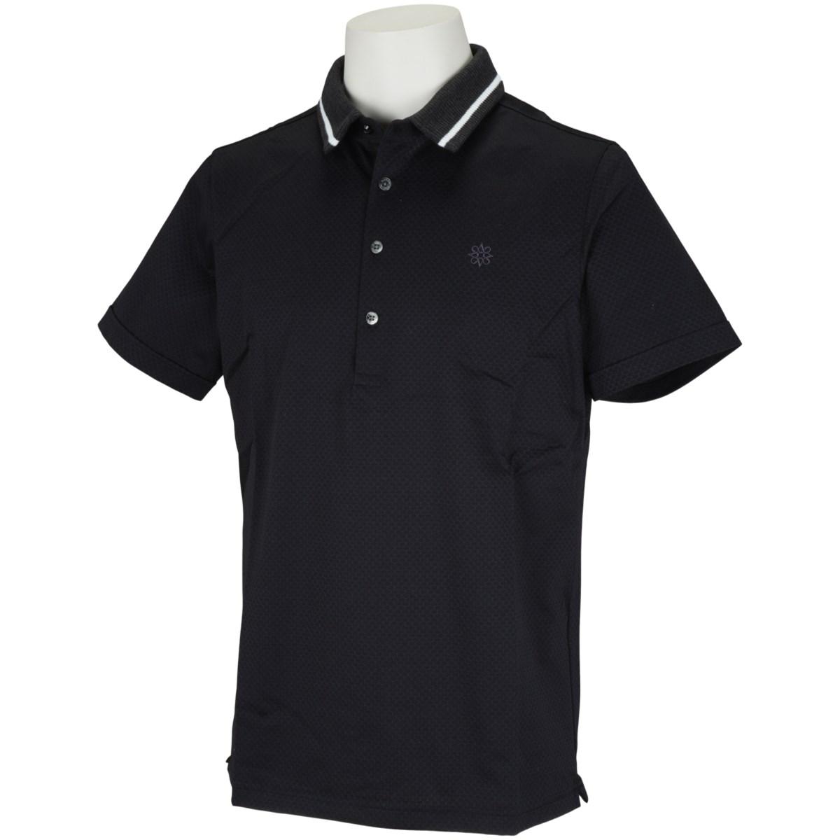 セント・アンドリュース ブレーティングジャガード 半袖ポロシャツ