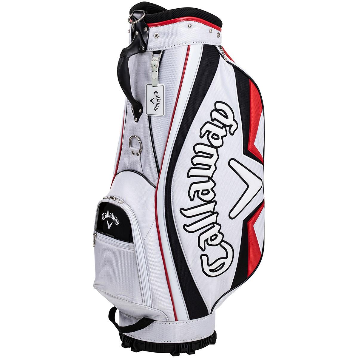 キャロウェイゴルフ Callaway Golf SPORT キャディバッグ ホワイト/ブラック/レッド
