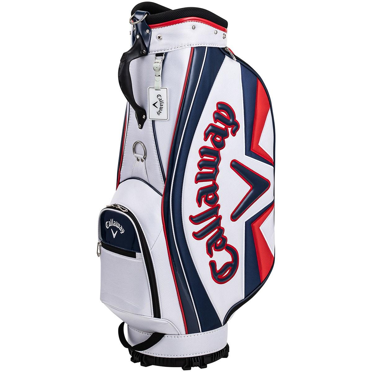 キャロウェイゴルフ Callaway Golf SPORT キャディバッグ ホワイト/ネイビー/レッド
