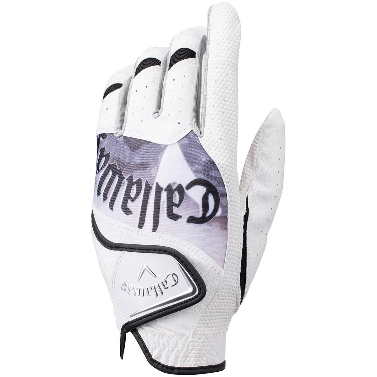 キャロウェイゴルフ Callaway Golf グラフィック グローブ 26cm 左手着用(右利き用) ホワイト/ブラック