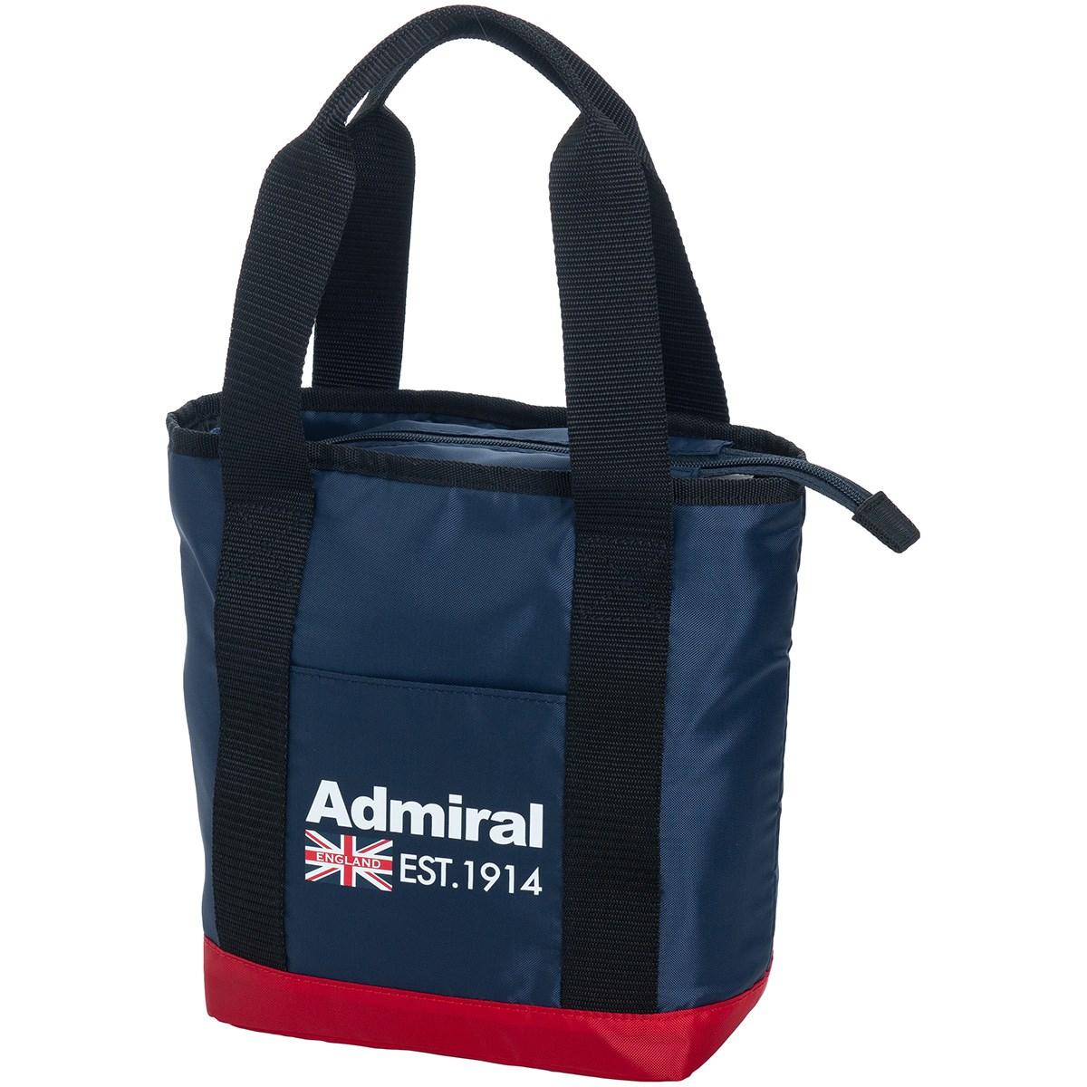 アドミラル Admiral ラウンドバッグ トリコロール 90