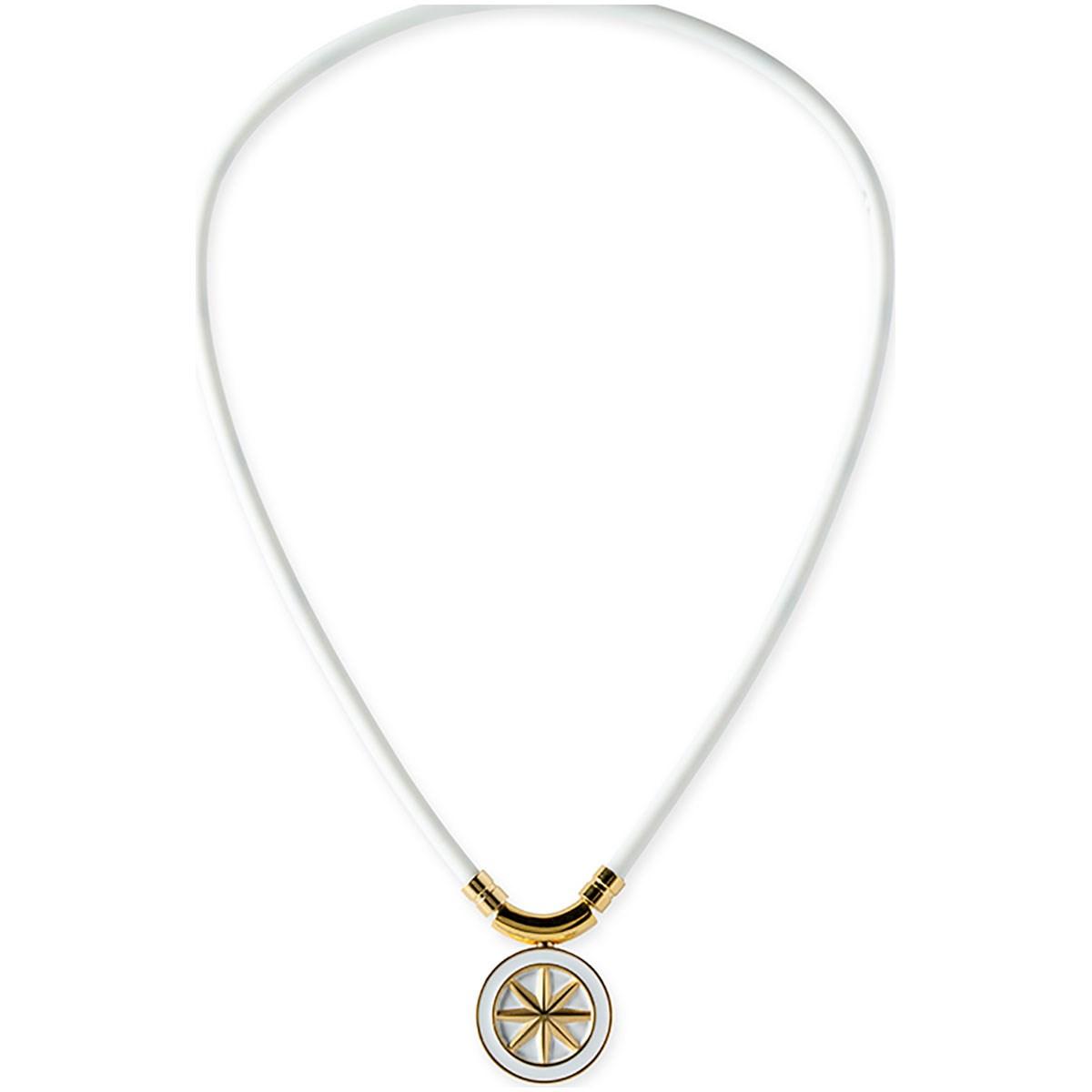 バンデル bandel ヘルスケアネックレス アース 52cm ホワイト/ゴールド