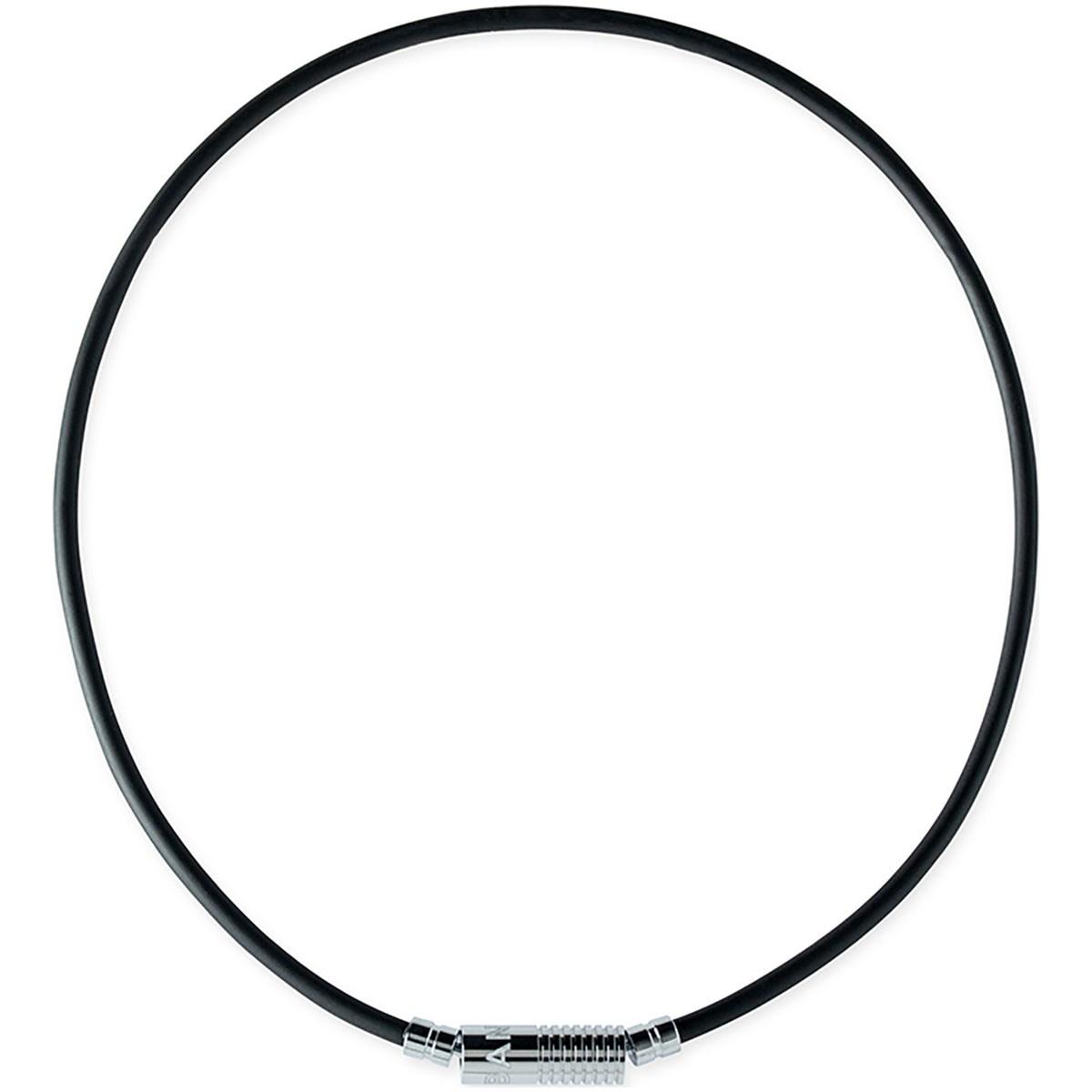 バンデル bandel ヘルスケアネックレス ニュートラル 52cm ブラック/シルバー