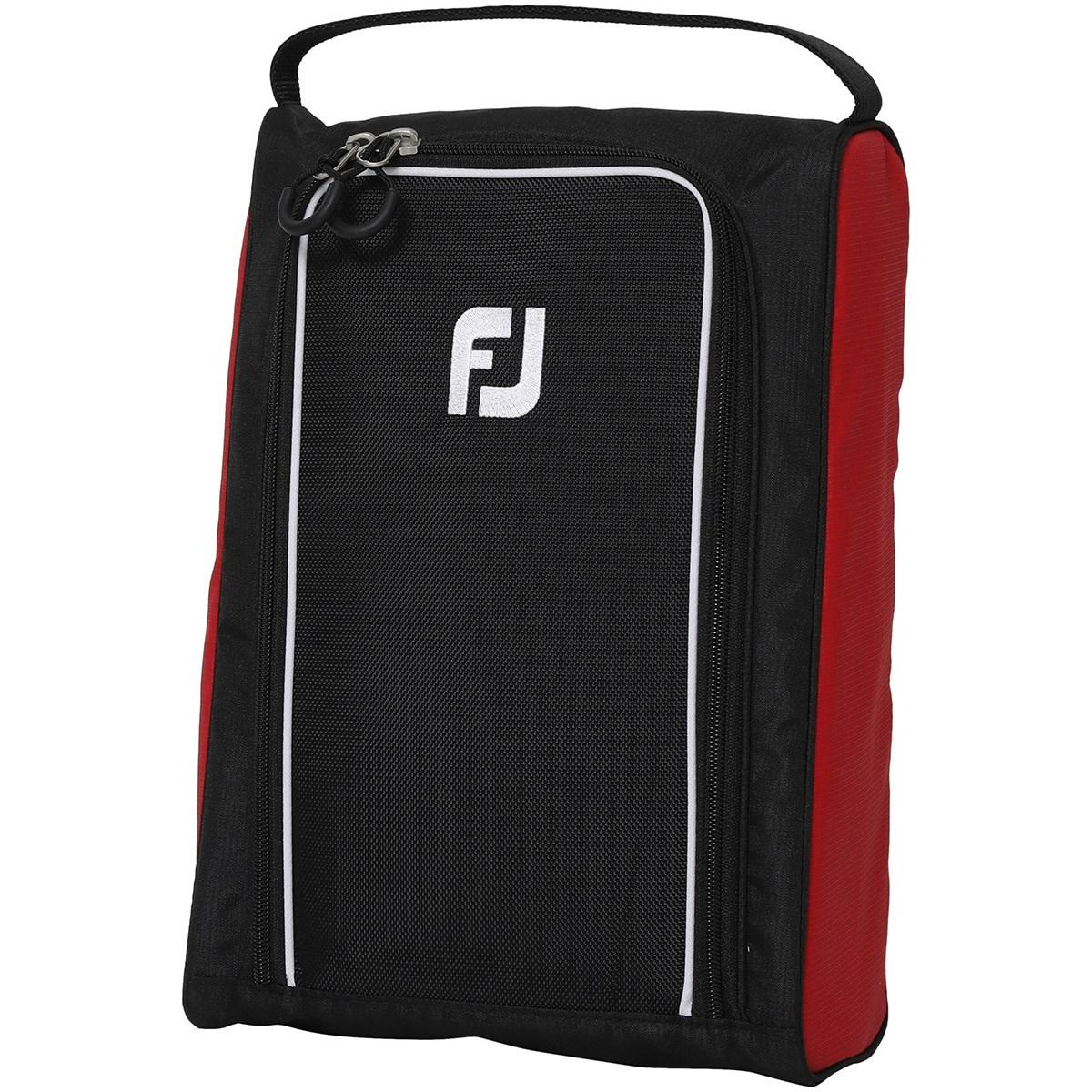 [2021年モデル] フットジョイ Foot Joy ベーシックシューズケース ブラック/レッド メンズ ゴルフ