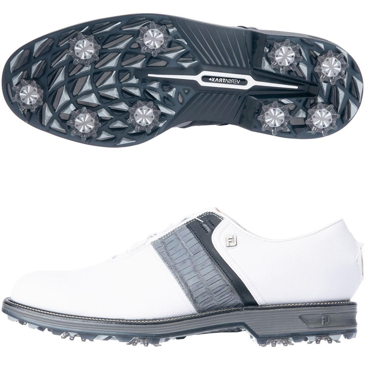 フットジョイ Foot Joy ドライジョイズ プレミア パッカード ボア シューズ 27cm ホワイト/グレー/ブラック