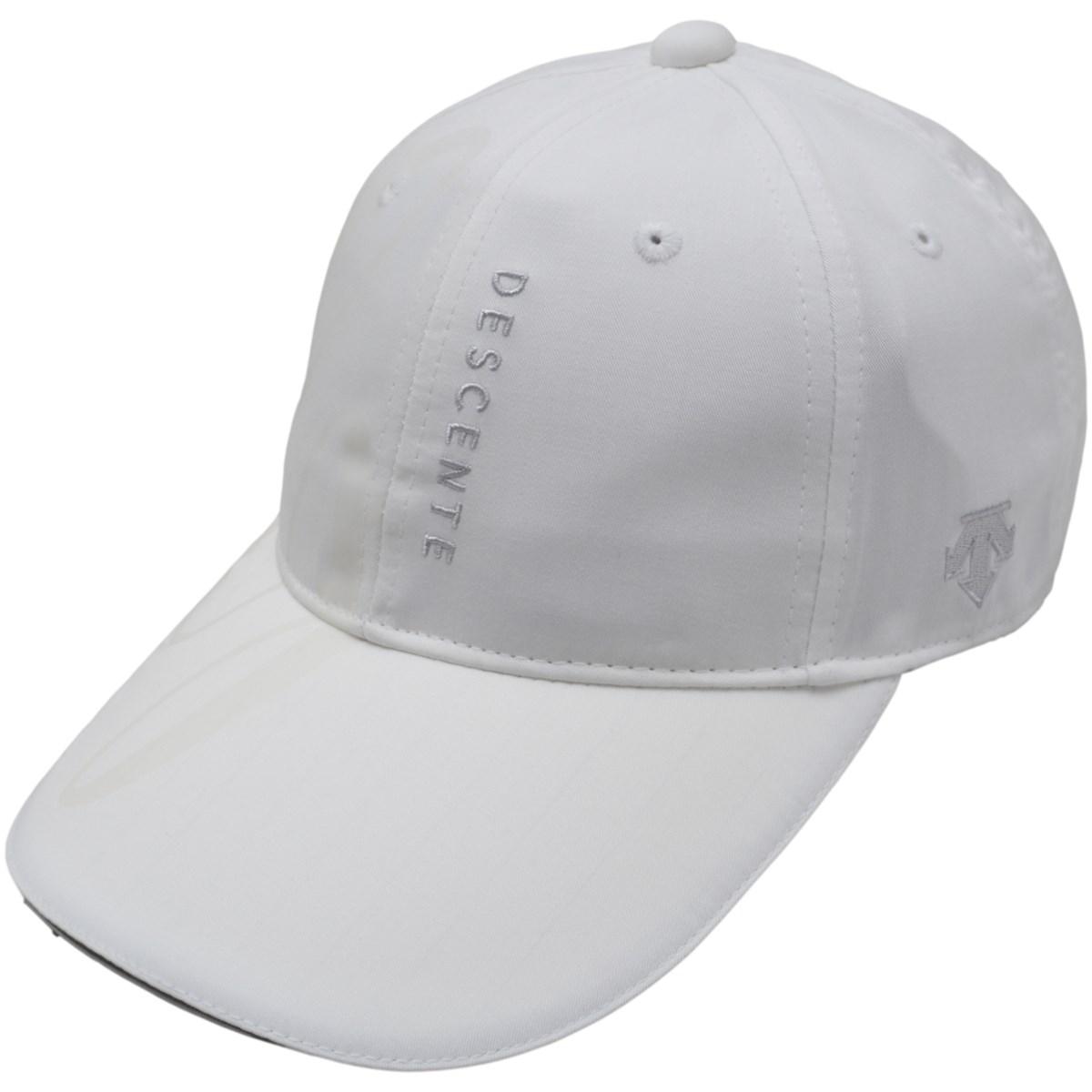 デサントゴルフ DESCENTE GOLF ECOキャップ フリー ホワイト 00 レディス