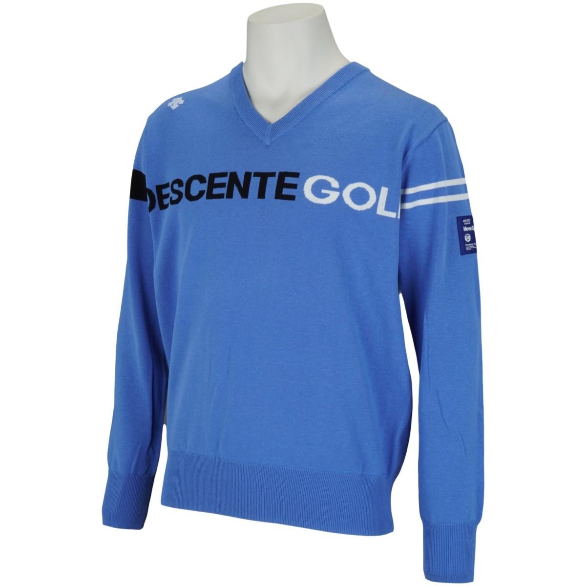 デサントゴルフ(DESCENTE GOLF) BLUE LABEL インターシャVネック セーター