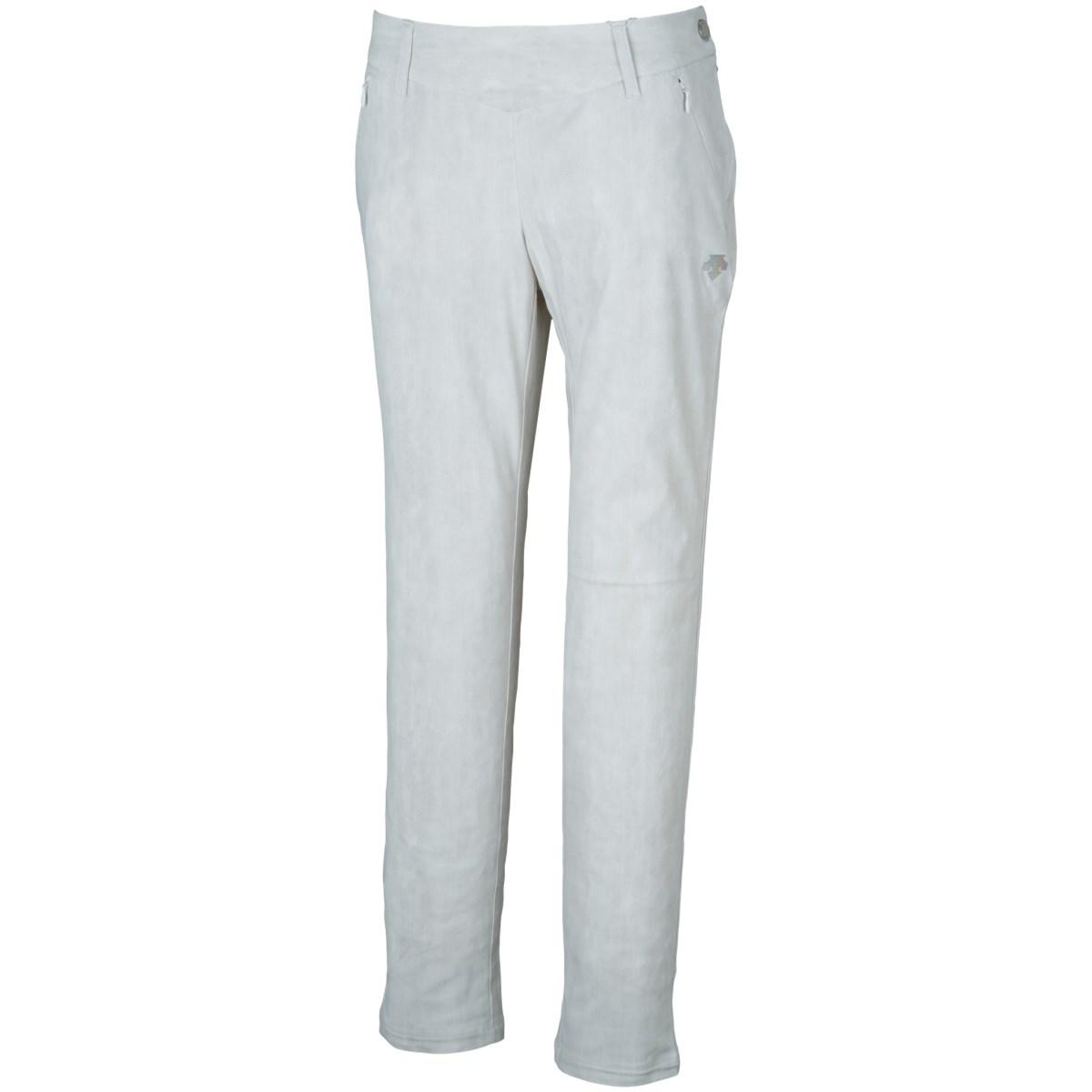 デサントゴルフ DESCENTE GOLF LUXEコレクション メリルハイテンション パンツ 61 ホワイト 00 レディス
