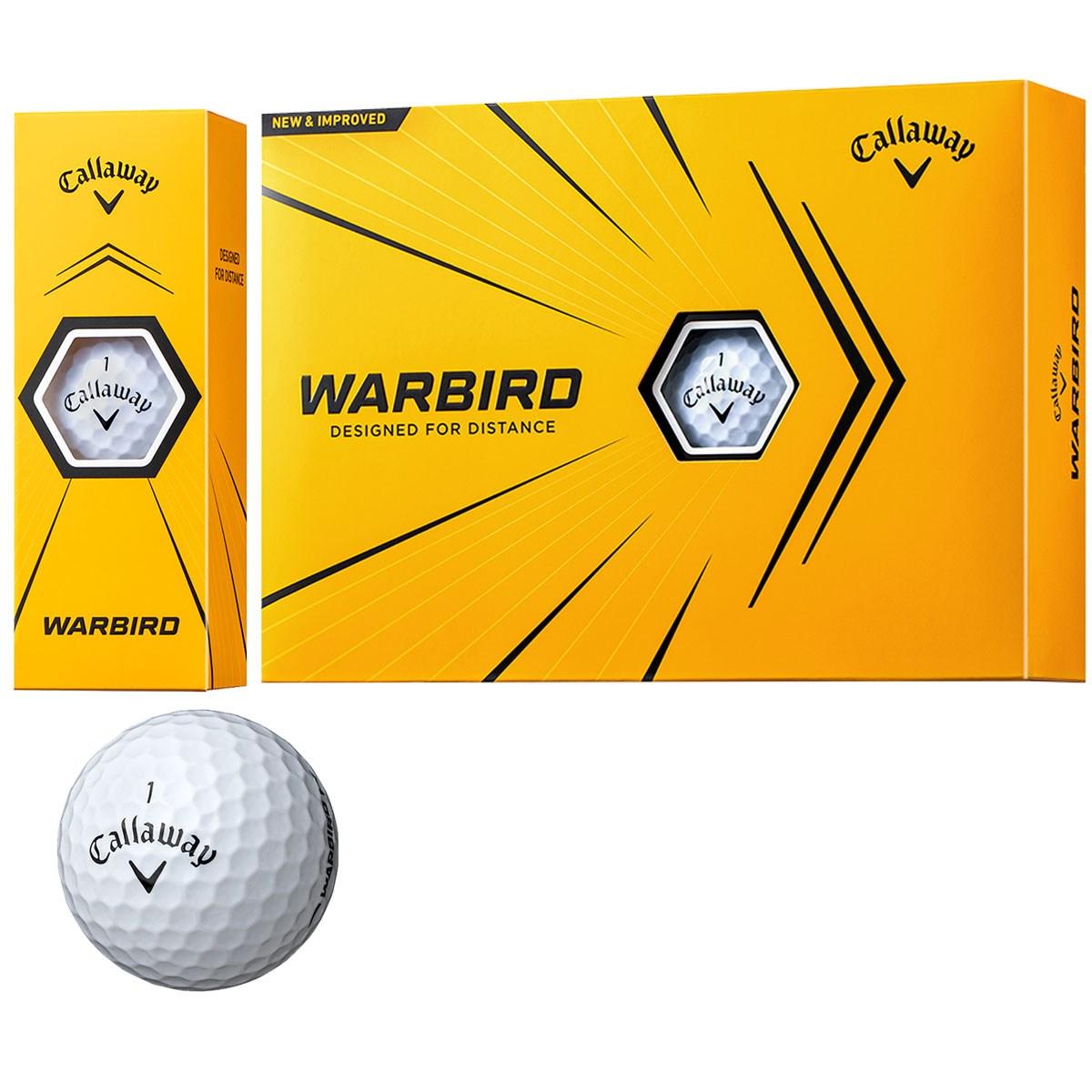 キャロウェイゴルフ WARBIRD WARBIRD 21 ボール 1ダース(12個入り) ホワイト