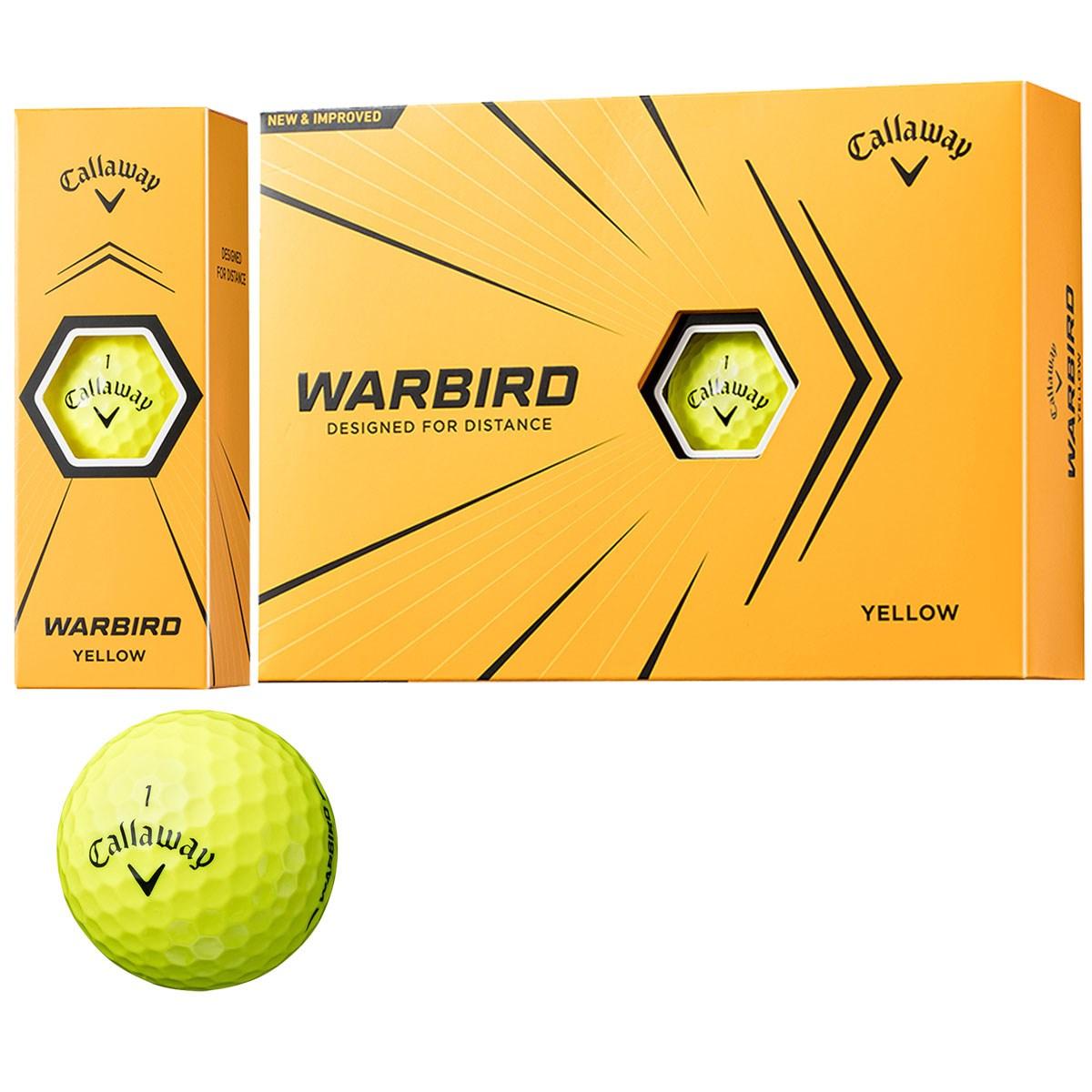 キャロウェイゴルフ WARBIRD WARBIRD 21 ボール 1ダース(12個入り) イエロー