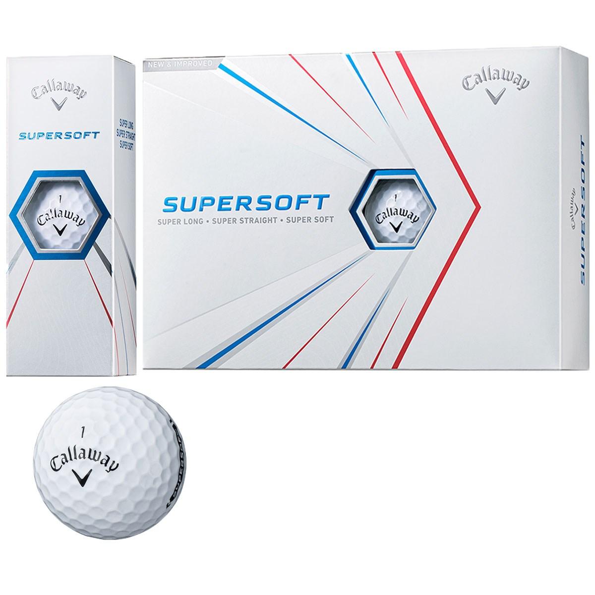 キャロウェイゴルフ(Callaway Golf) SUPERSOFT 21 ボール【2021年3月5日発売予定】