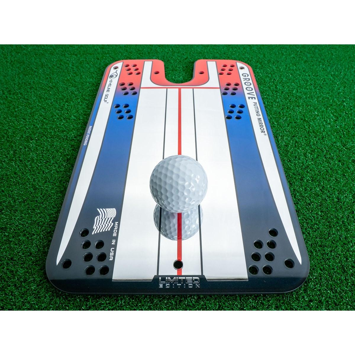 アイラインゴルフ EYELINE GOLF グルーヴパッティングミラー シルバー