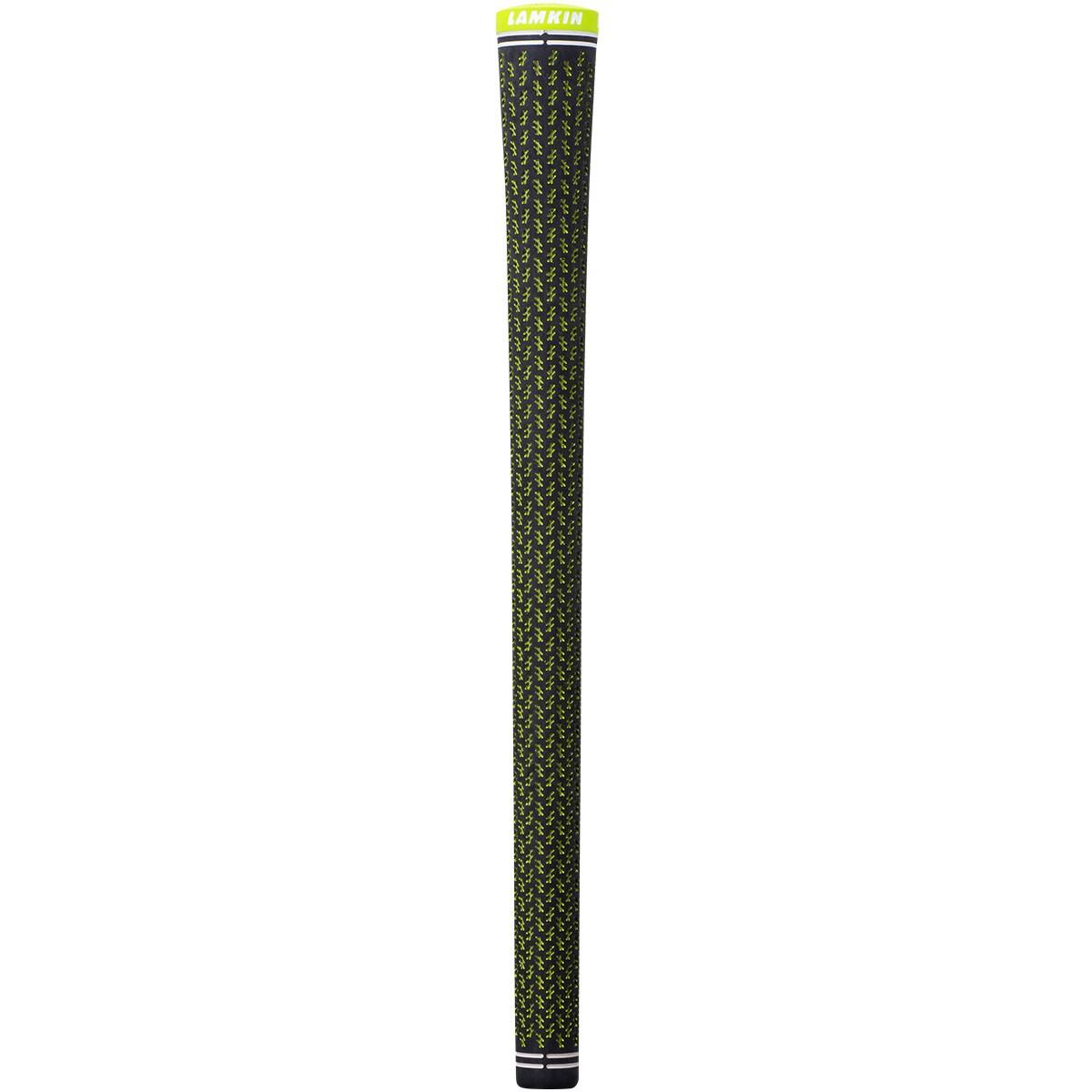 [2020年モデル] ラムキン Lamkin クロスライン360 スリム グリップ ブラック/ライム メンズ ゴルフ