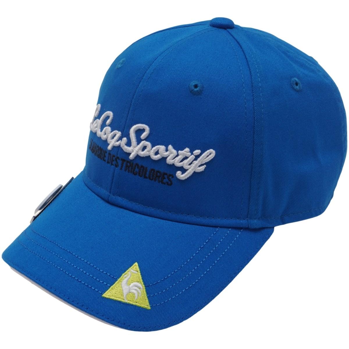 ルコックゴルフ Le coq sportif GOLF クリップマーカー付きキャップ フリー ブルー 00 レディス