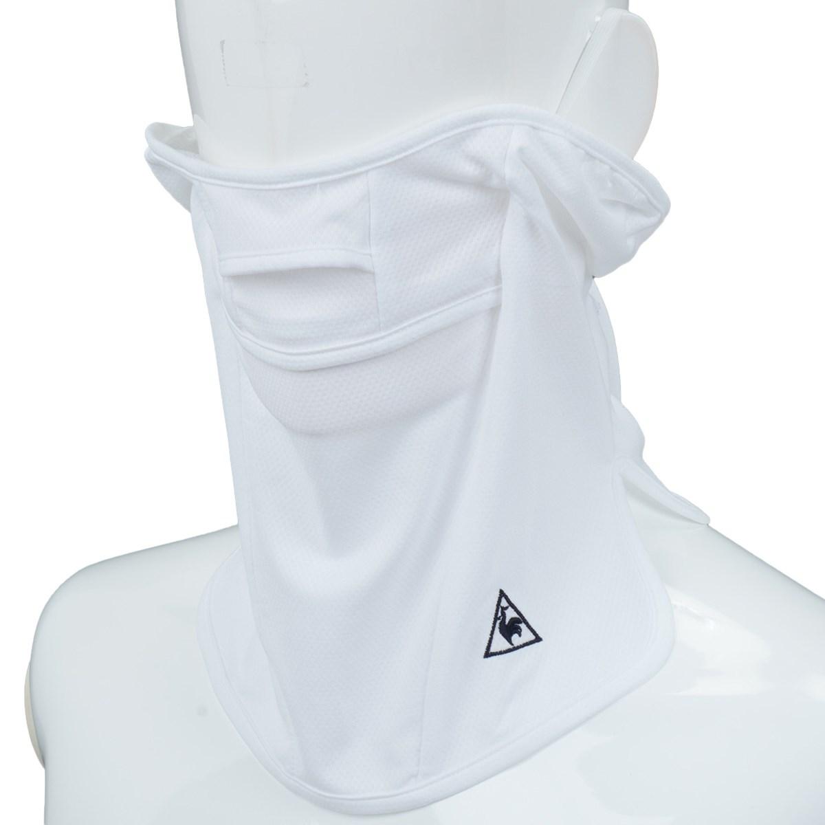 ルコックゴルフ Le coq sportif GOLF フェイスマスク ホワイト 00 フリー レディス