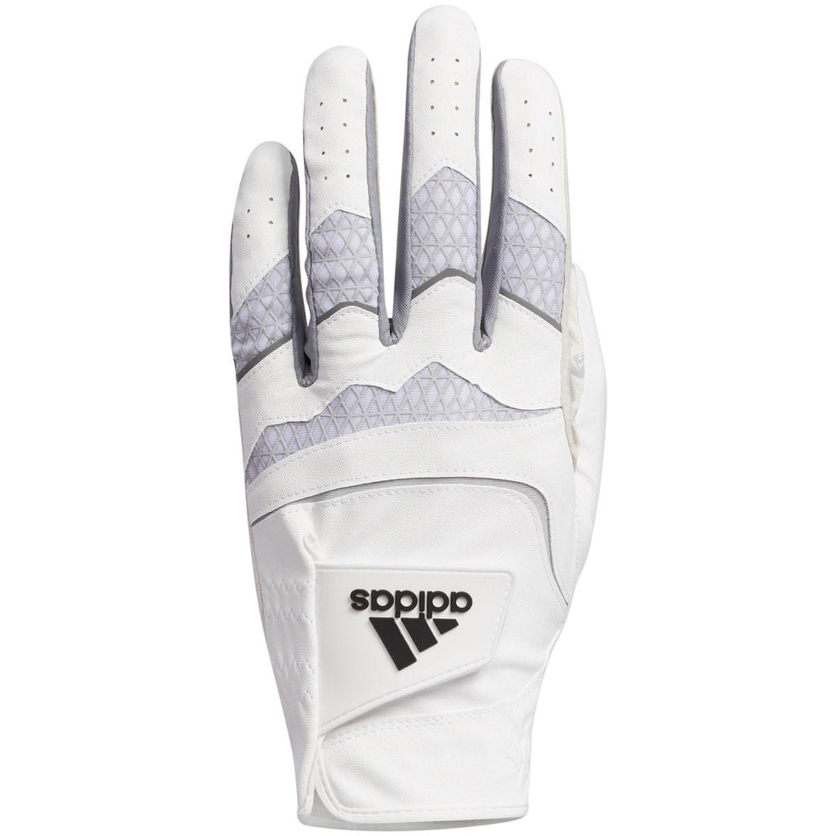 アディダス Adidas コードカオス グローブ 22cm 左手着用(右利き用) ホワイト/ハロ シルバー
