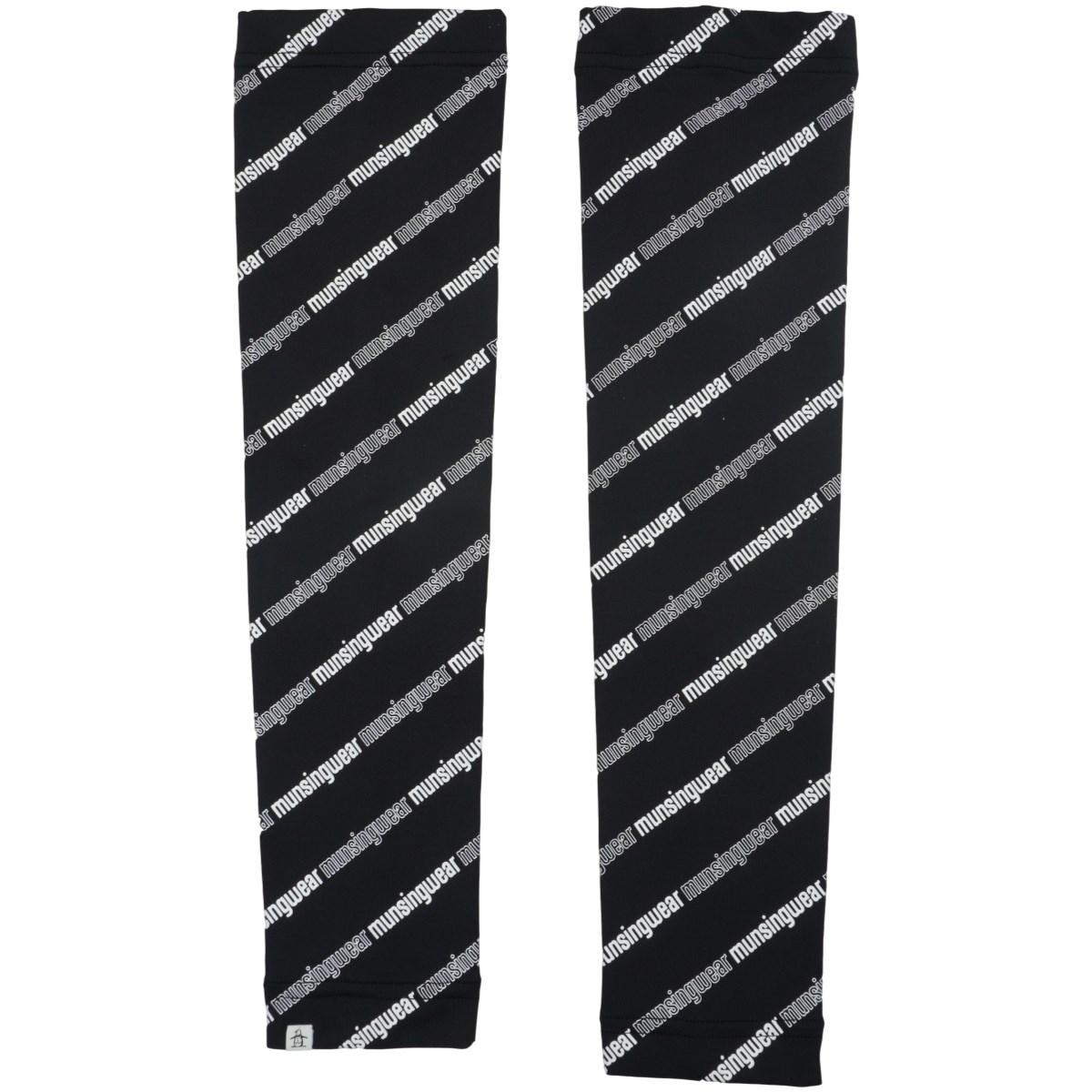 マンシングウェア Munsingwear ENVOY 総柄プリント アームカバー ブラック 00 フリー レディス