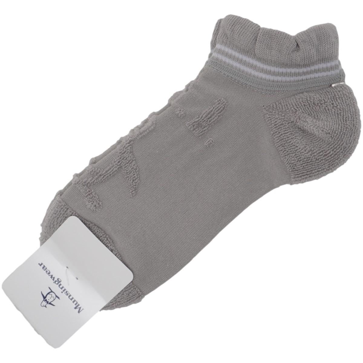 マンシングウェア Munsingwear パイルソックス フリー グレー 00 レディス