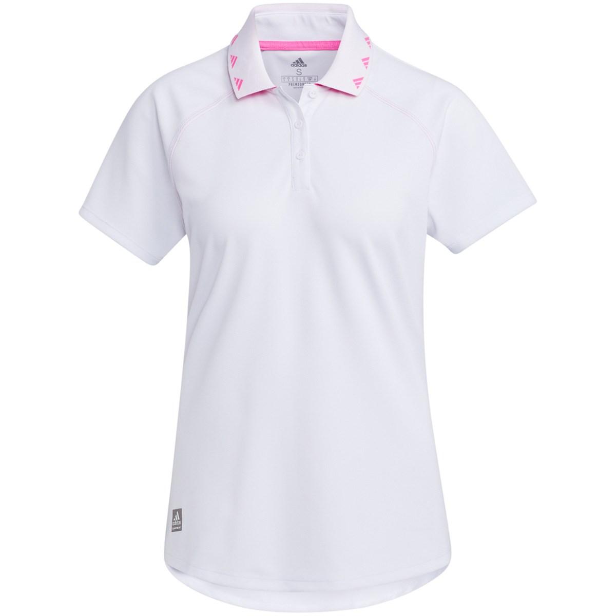 アディダス Adidas PRIMEGREEN ソリッド 半袖ポロシャツ J/M ホワイト レディス