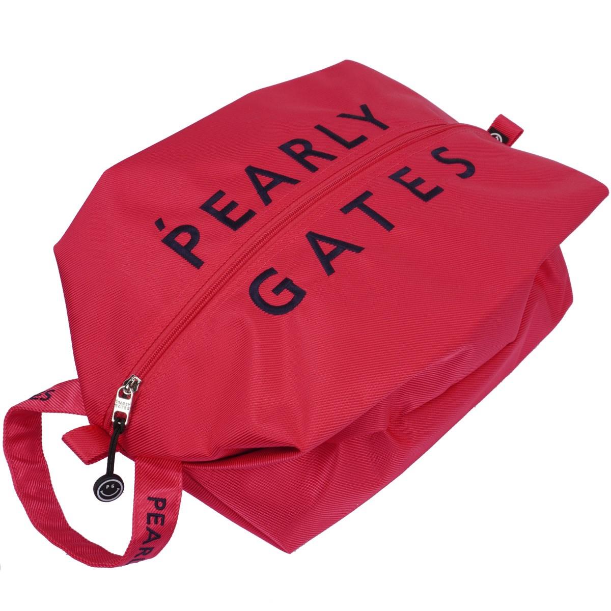 [定番モデル] パーリーゲイツ PEARLY GATES シューズケース ピンク 090 メンズ ゴルフ