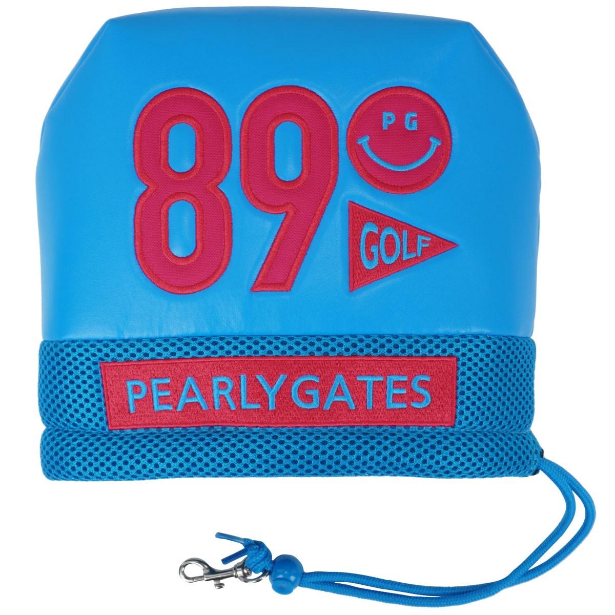 [定番モデル] パーリーゲイツ PEARLY GATES 合皮アイアンカバー ブルー 110 メンズ ゴルフ