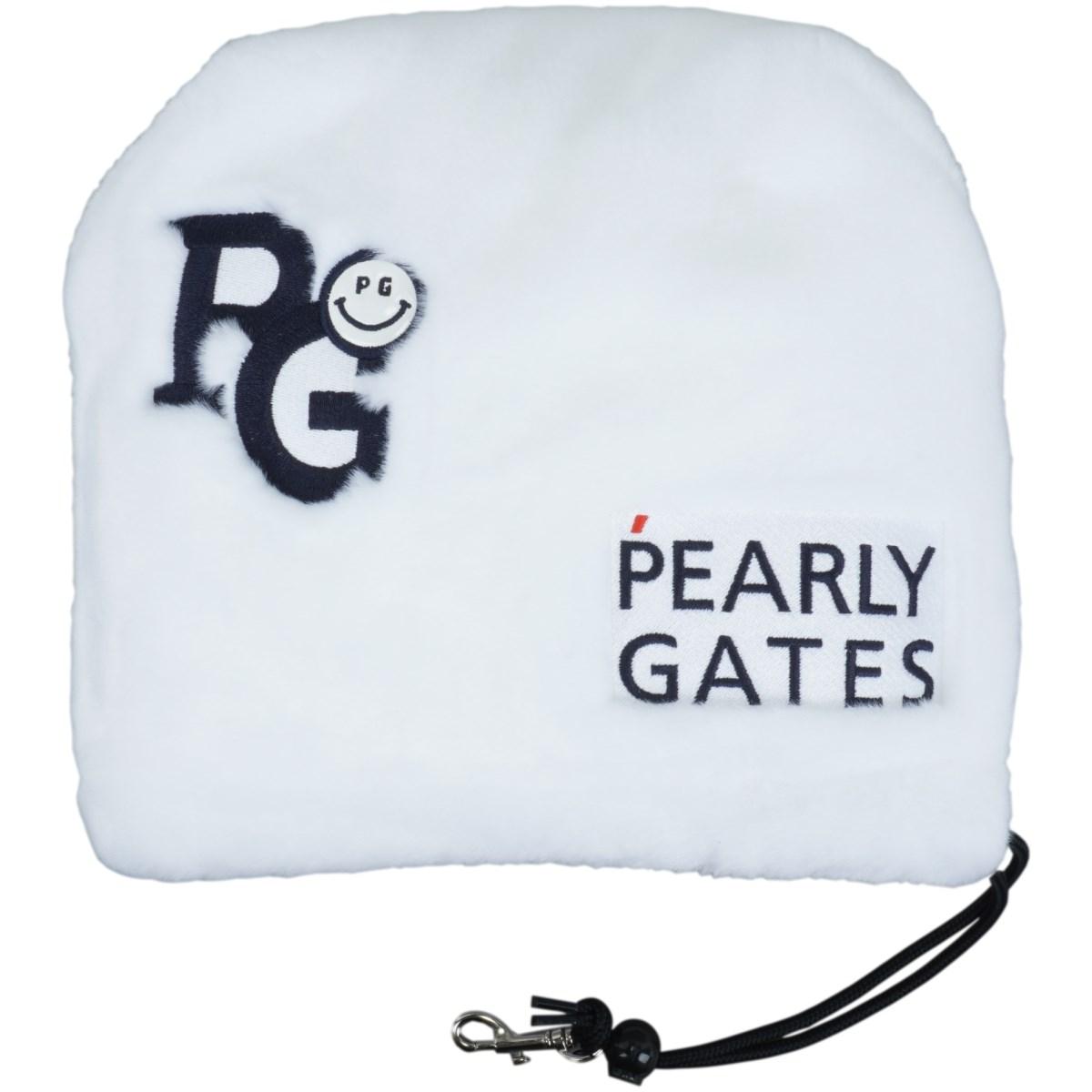 [定番モデル] パーリーゲイツ PEARLY GATES ボア アイアンカバー ホワイト 030 メンズ ゴルフ