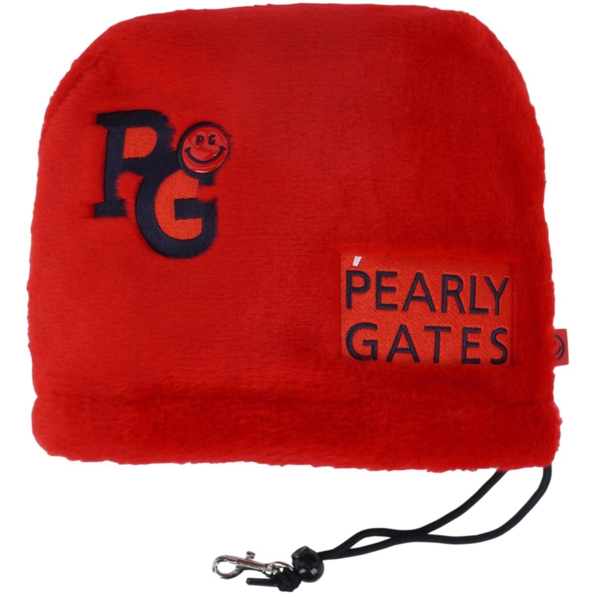 [定番モデル] パーリーゲイツ PEARLY GATES ボア アイアンカバー レッド 100 メンズ ゴルフ