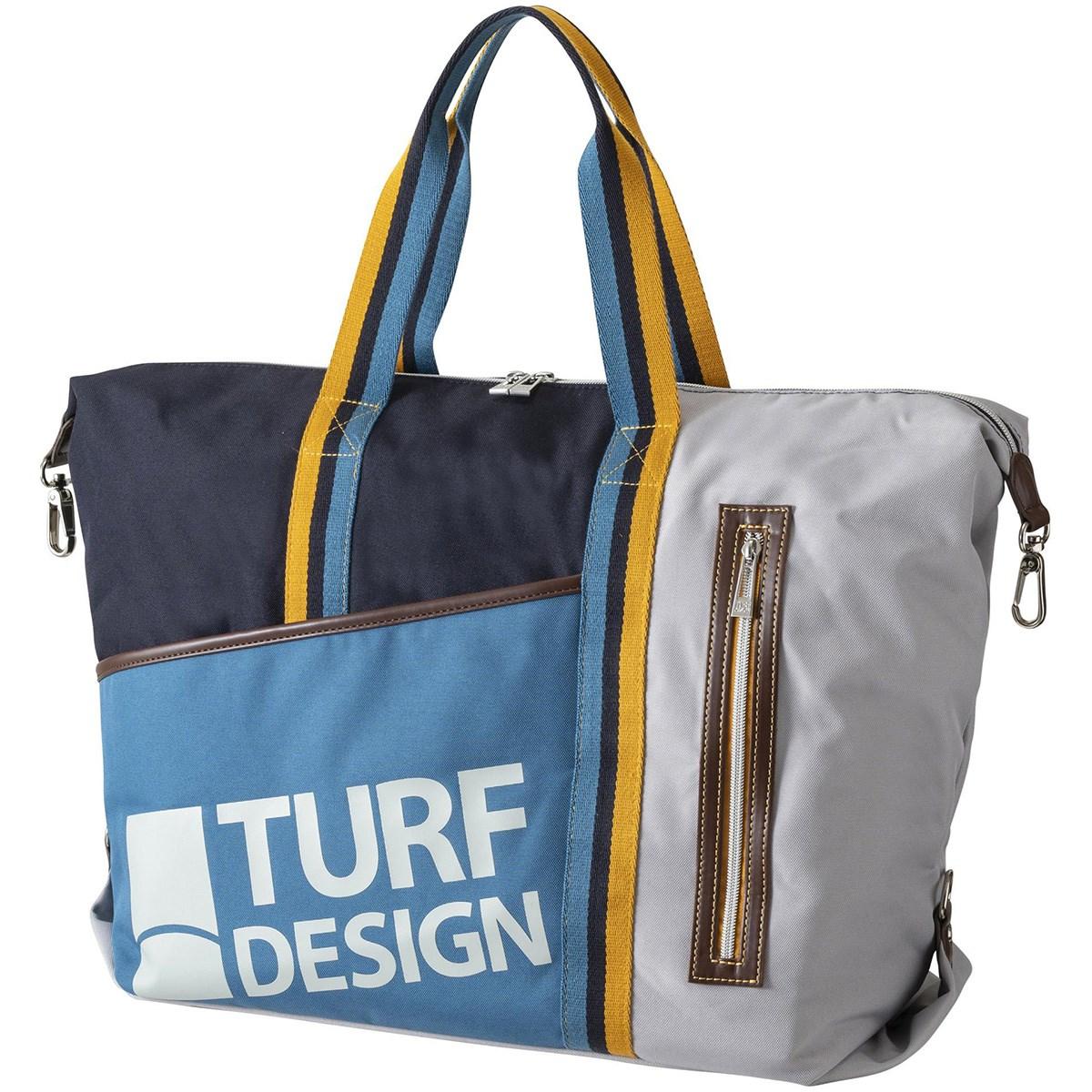 ターフデザイン トートバッグ ブルー メンズ ゴルフ