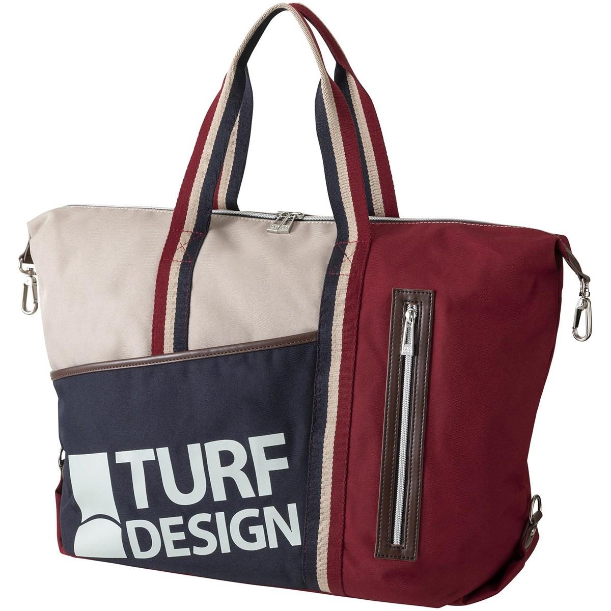 ターフデザイン トートバッグ レッド メンズ ゴルフ