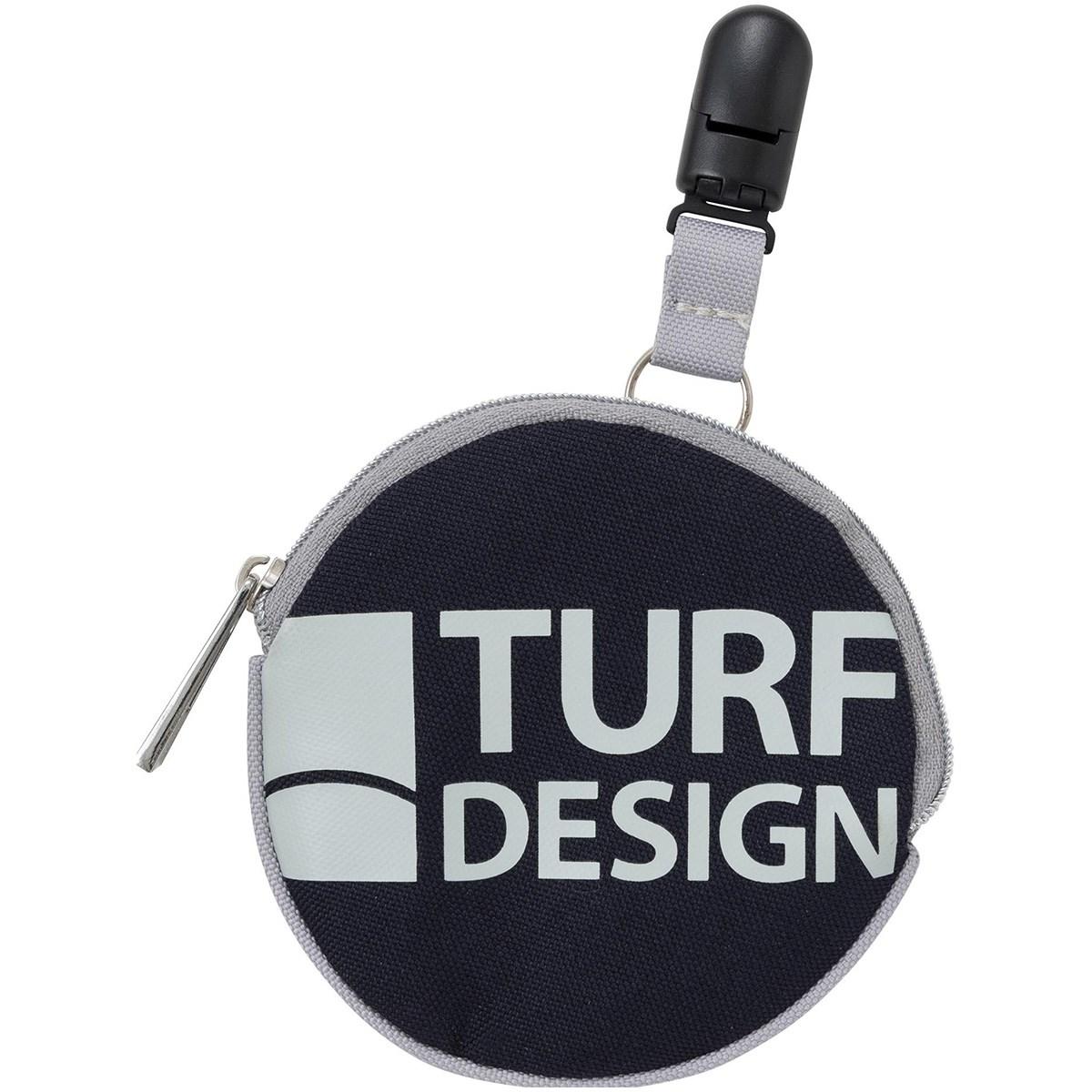 ターフデザイン TURF DESIGN 2WAY パターキャッチャー機能付き ボールクリーナー ブルー