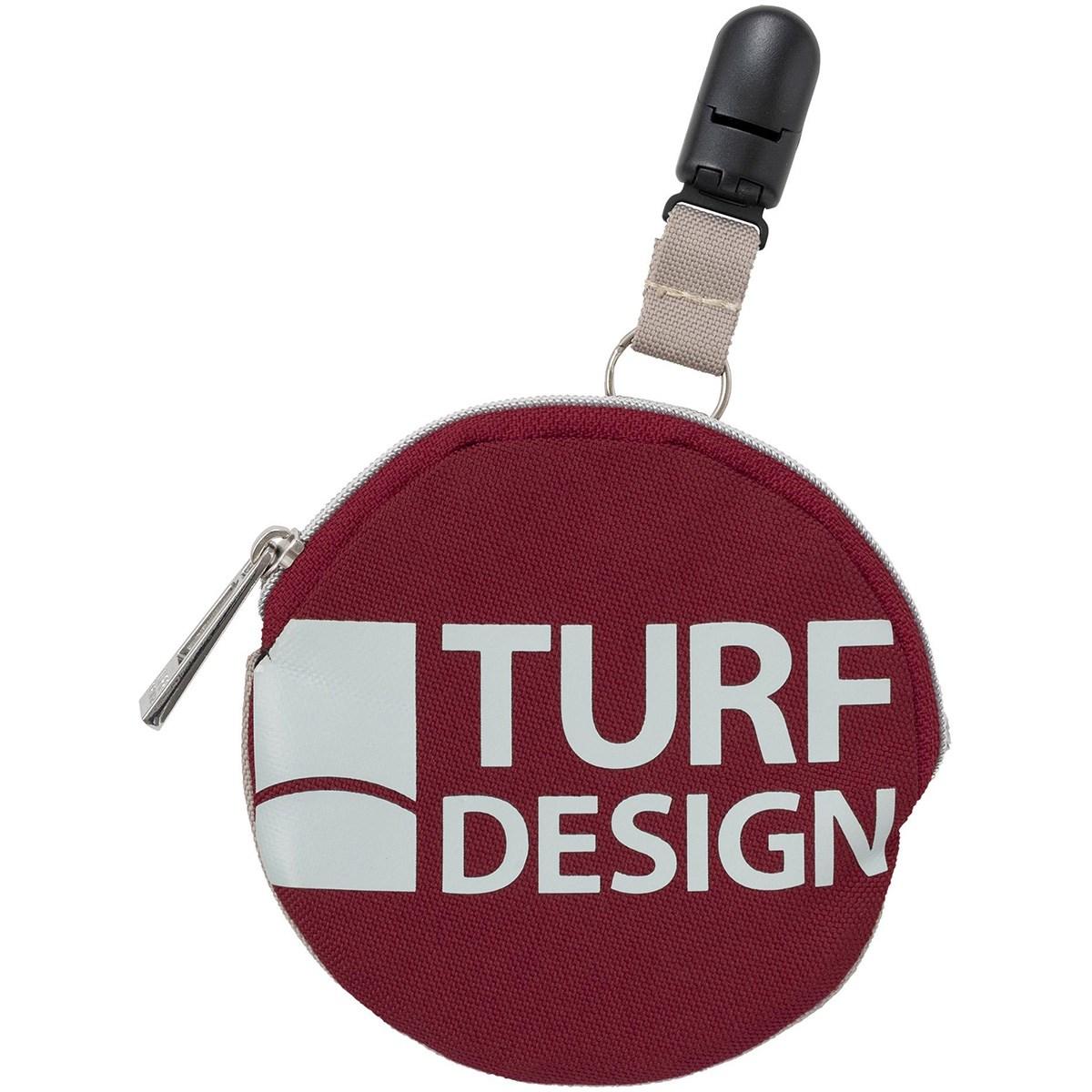 ターフデザイン TURF DESIGN 2WAY パターキャッチャー機能付き ボールクリーナー レッド