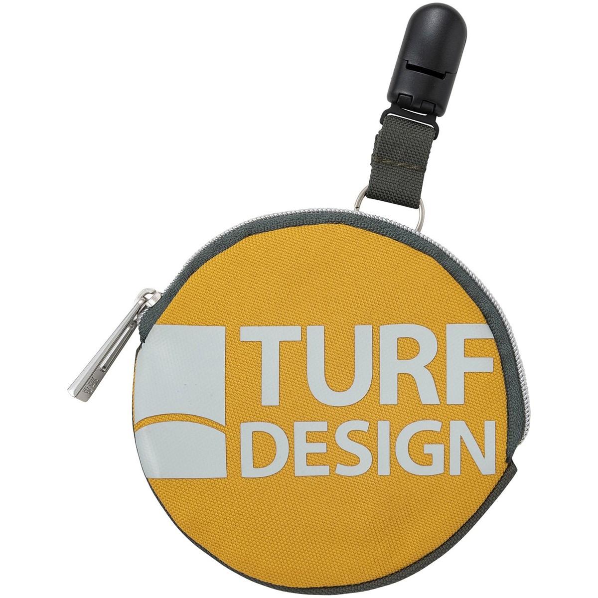 ターフデザイン TURF DESIGN 2WAY パターキャッチャー機能付き ボールクリーナー イエロー