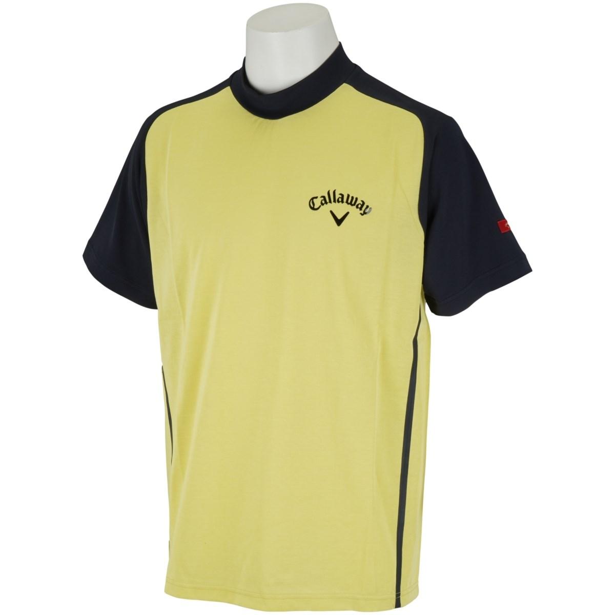 キャロウェイゴルフ CALLAWAY RED LABEL 半袖ハイネックシャツ M イエロー 060