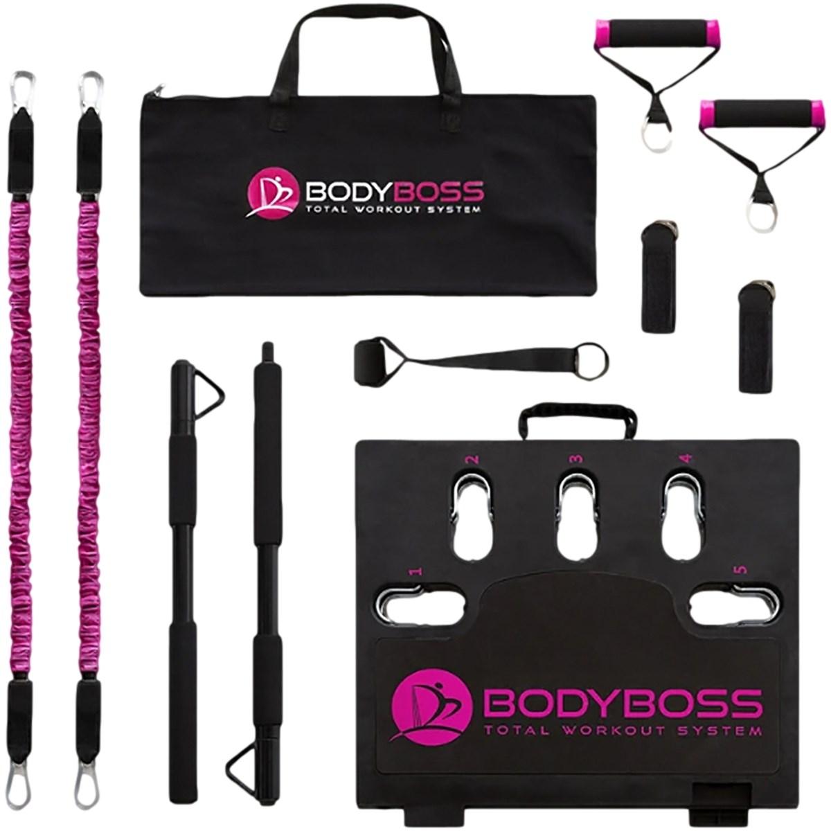 BODYBOSS 2.0 ポータブルフィットネス ピンク メンズ ゴルフ
