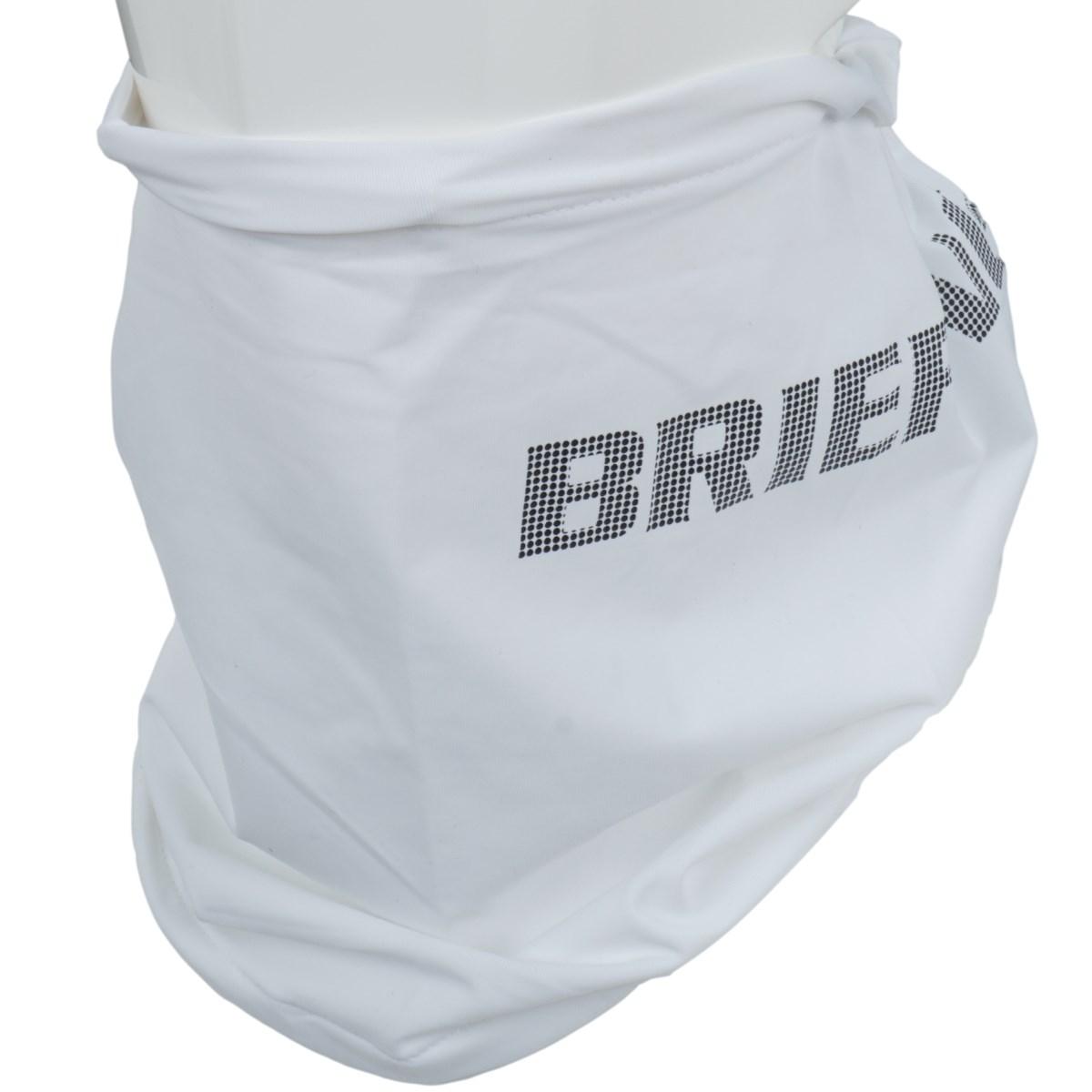 ブリーフィング BRIEFING CORDURA ネックガイザー ホワイト 000