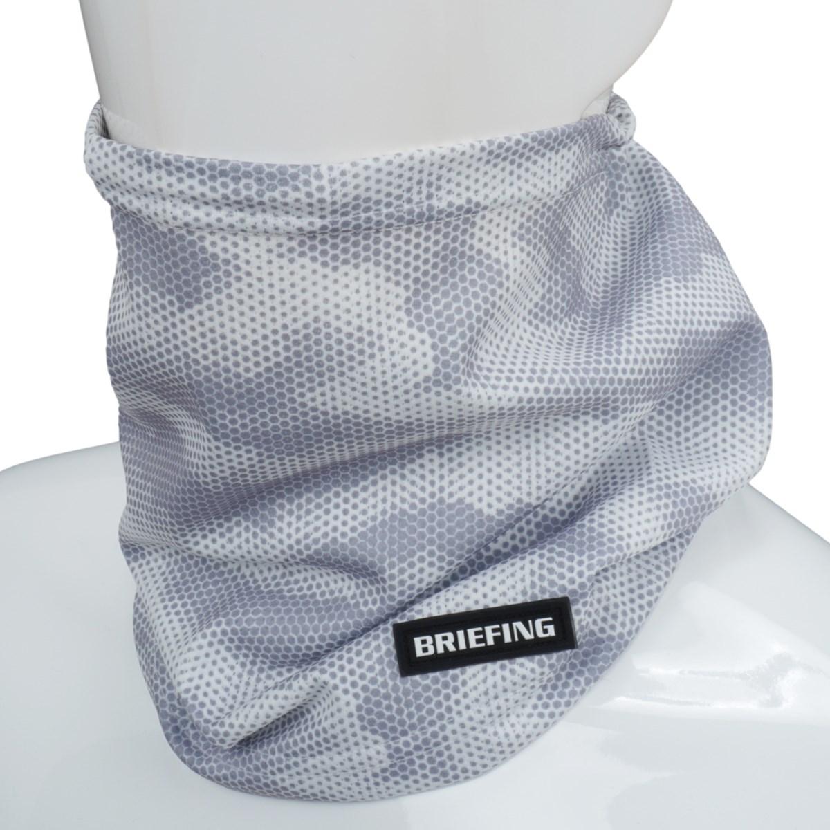 ブリーフィング BRIEFING カモネックガイザー ホワイト 000