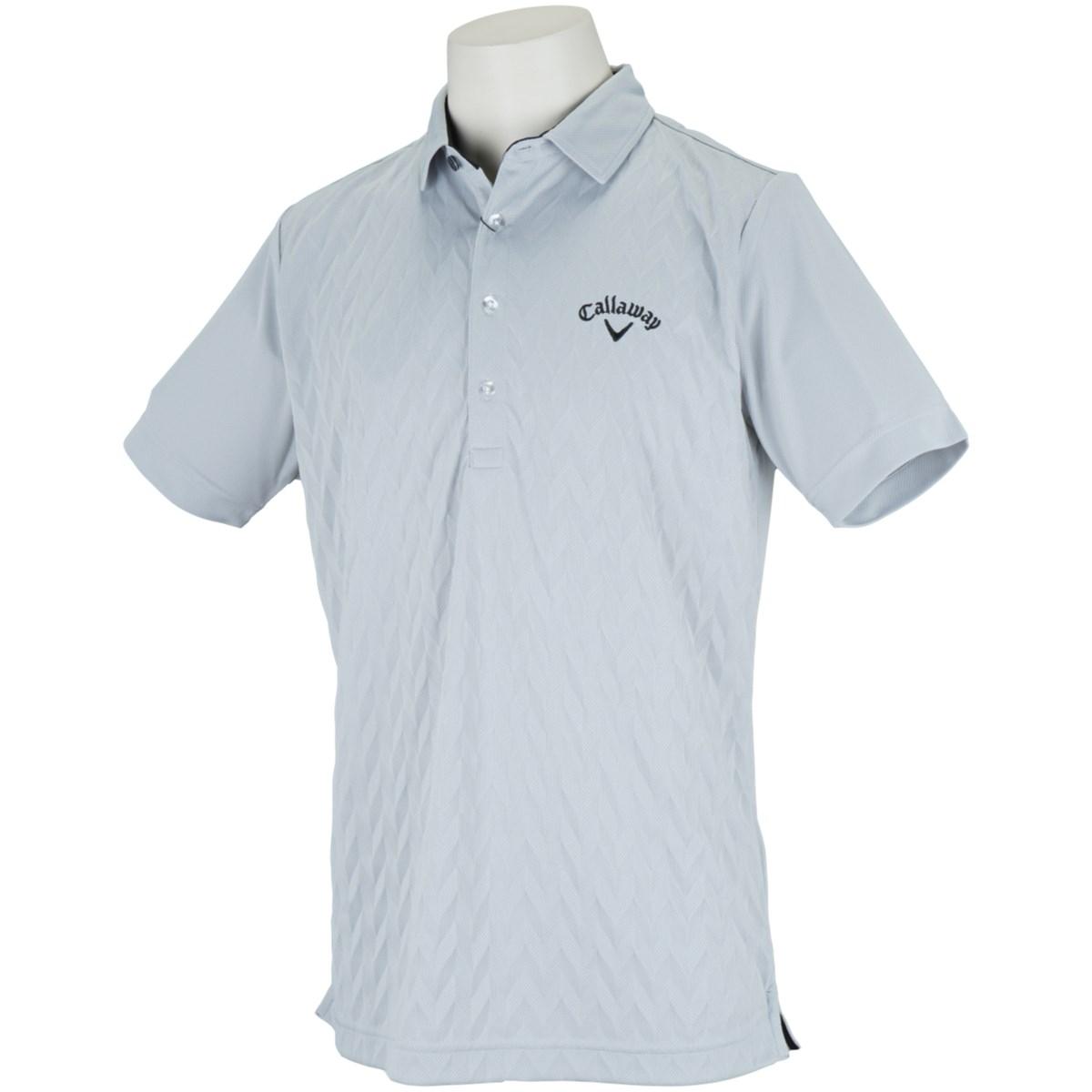 キャロウェイゴルフ Callaway Golf 半袖ポロシャツ M グレー 020