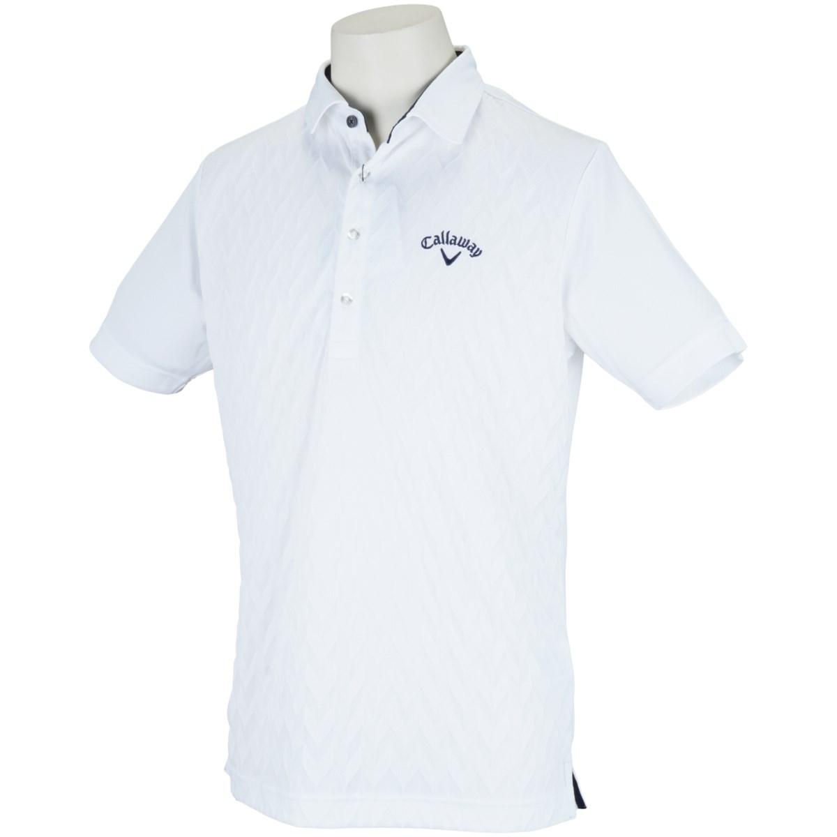 キャロウェイゴルフ Callaway Golf 半袖ポロシャツ M ホワイト 030