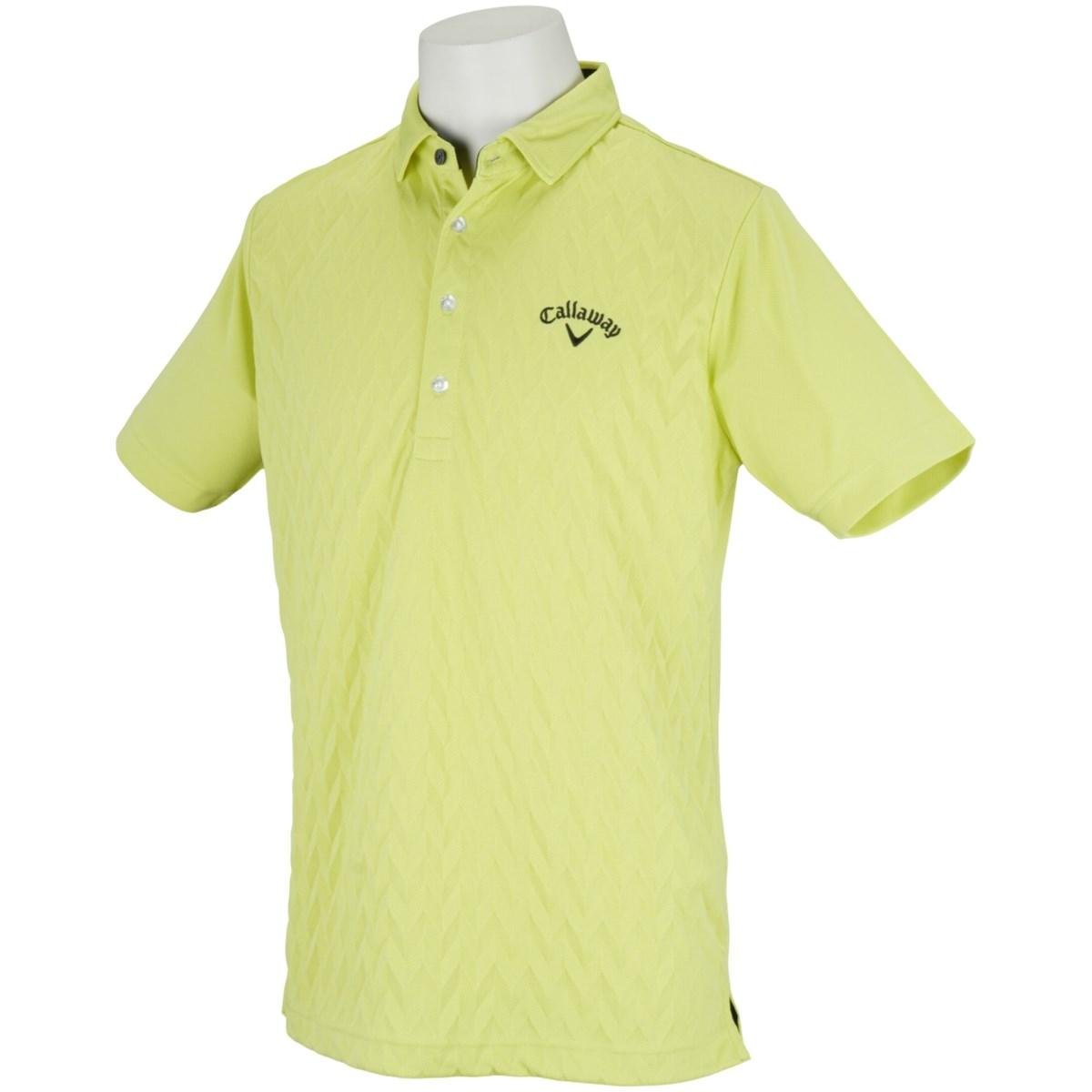 キャロウェイゴルフ Callaway Golf 半袖ポロシャツ LL ライトグリーン 130