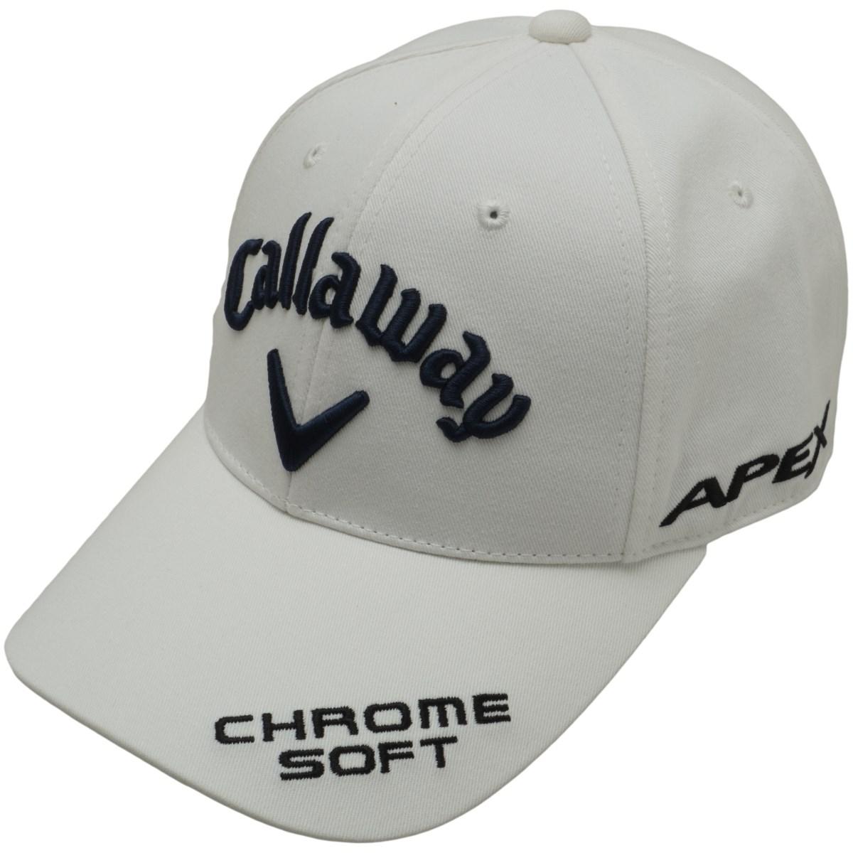 キャロウェイゴルフ Callaway Golf ツアーキャップ フリー ホワイト/ネイビー 030 レディス