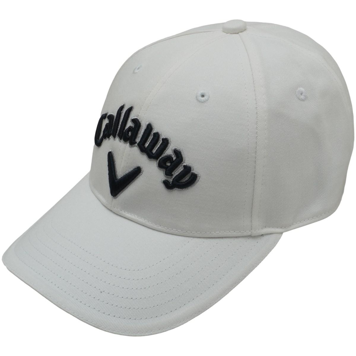 キャロウェイゴルフ Callaway Golf ベーシックキャップ フリー ホワイト/ネイビー 030 レディス
