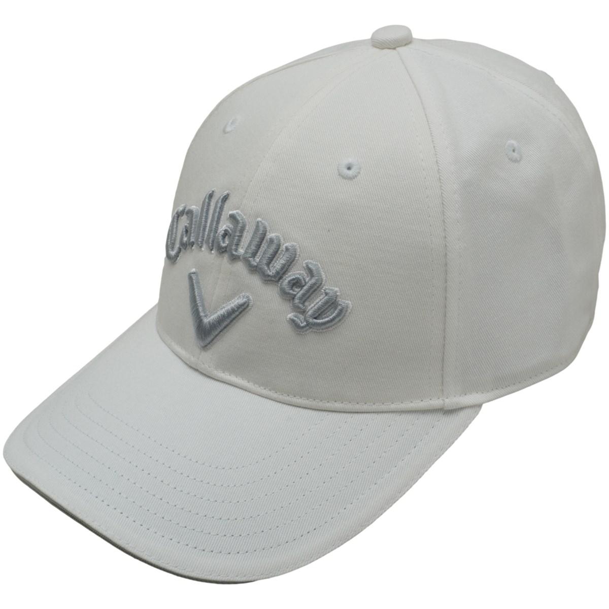 キャロウェイゴルフ Callaway Golf ベーシックキャップ フリー ホワイト/シルバー 031 レディス