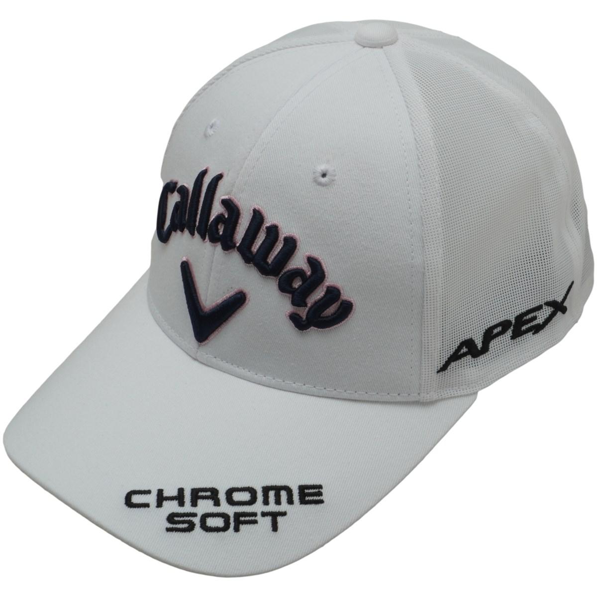 キャロウェイゴルフ Callaway Golf ツアーアメリカンメッシュキャップ フリー ホワイト 030 レディス